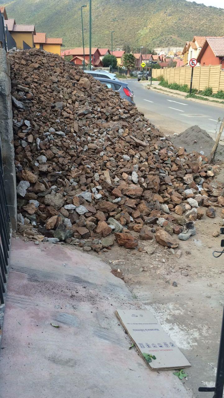 escombros santiago